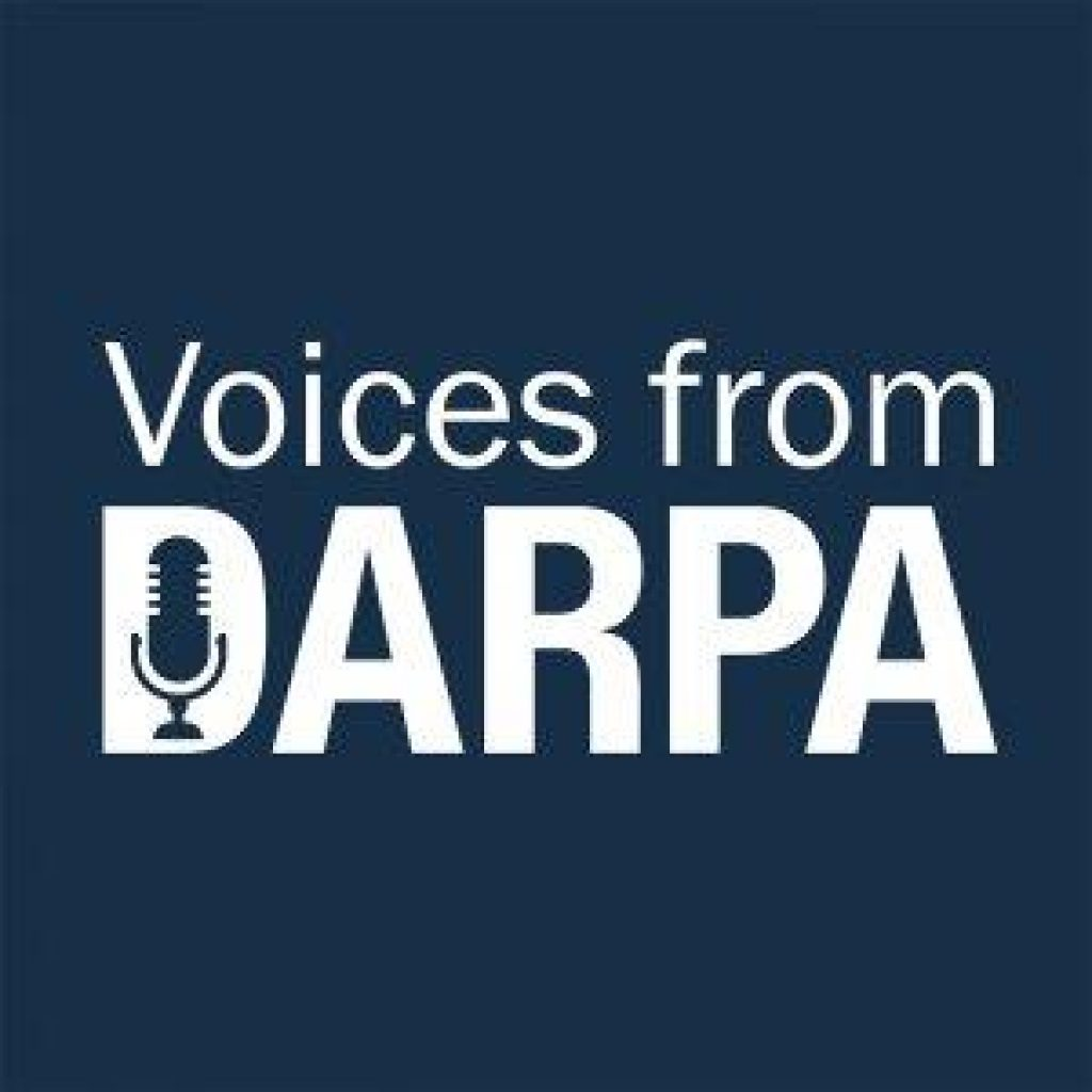 Voices from DARPA podcast logo